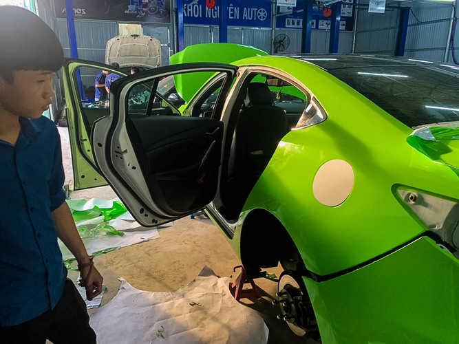 garage sửa xe ô tô tphcm