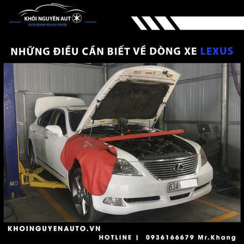 sửa xe Lexus tphcm