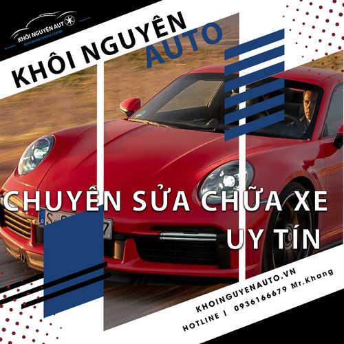 sửa xe Porsche tphcm